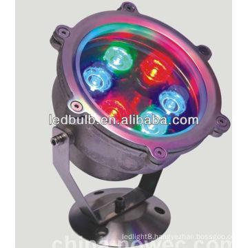 6W RGB Underwater led lamps
