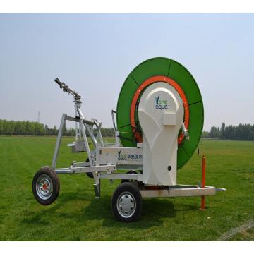 sistema de riego de carrete de manguera de alta eficiencia