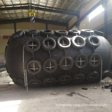 certificated by iso ship fender floating marine fender with tyre,flange and safety valves