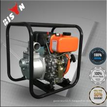 BISON Chine Taizhou 2 'High Qualtiy Pump Body Big Displacement Portable Diesel Engine Set de pompe à eau