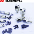 Carbide Adaptor for Indexable Milling Inserts
