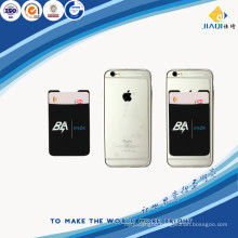 silicone material mobile phone card bag