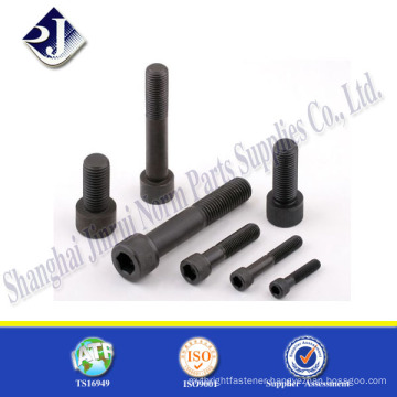 hardware supplier carbon steel zinc plated hex socket screw