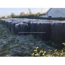 Película estirada ensilaje negro con 750 mm