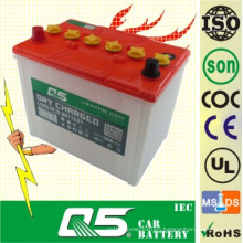 JIS-N60 N50Z 12V60AH Dry Charged Car Battery for Auto Truck