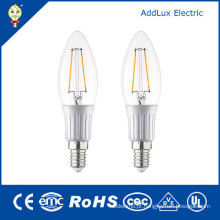 Luz fresca da vela do filamento do diodo emissor de luz do branco de 220V 3W E27 SMD