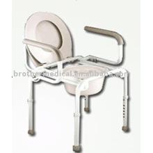 Multifunções Cadeira Commode aço