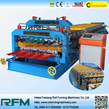 FX most popular metal roofing double layer roll forming machine