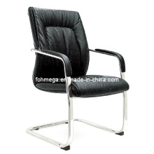 Modern Bow Leg Leather Conference Chair (FOH-B39-3)