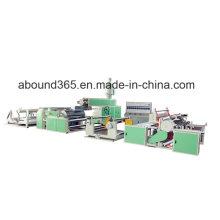 Máquina de recubrimiento o laminación de plástico para sacos de PP o paño no tejido