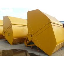 12CBM Electro-hidráulico Clamshell Grab para entregar material a granel
