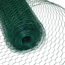 100ft pvc coated poultry farm wire netting chicken wire netting hexagonal wire mesh