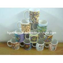 Decal Printed Mug, 11oz Ceramic Mug, Promotional Mug
