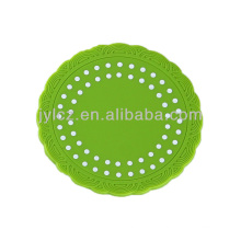 silicon rubber wine glass coaster