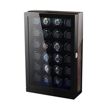 Black Gloss Pu Finish 24 Rotors Watch Winder