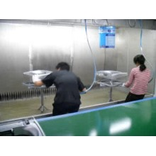 Manual Spray Painting Line