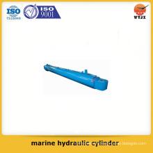 Calidad asegurada pistón tipo cilindro hidráulico marino para marina