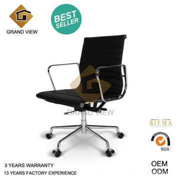 Design Eames Leather Manager Chair (GV-EA117)