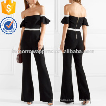 4 fuera del hombro Crepe Jumpsuit Manufacture Wholesale Fashion Women Apparel (TA3001J)