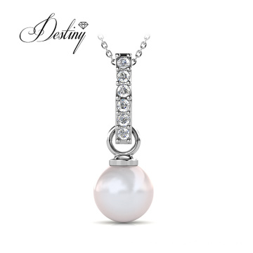 Women Jewelry Large Pearl Pendant Necklace Mother Day Gifts 2021