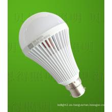 9W LED bombilla luz recargable LED