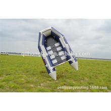 mais barato barco 2,3 m do slat chão barco inflável do pvc com barco de ce
