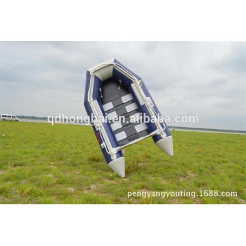 cheap pvc boat 2.3m slat floor inflatable boat with ce boat