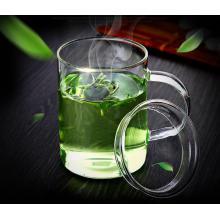 Hitzebeständigkeit Glas Teetasse Trinkglas für Großhandel