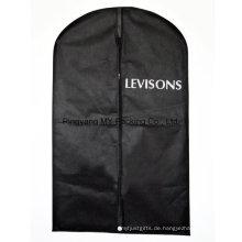 Kundenspezifische Werbeartikel PP Non Woven Anzug Abdeckung Kleidungsstück Verpackung Tasche