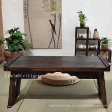Atacado moderno estilo madeira compensada chinesa mesa de chá mesa de café de madeira