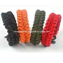 Reflektierende Survival Armband
