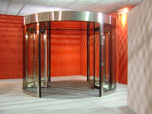 Safety Two-wing Automatic Revolving Doors