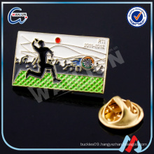 fox sports lapel pin for run