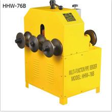 HHW-G76 dobladora de metal con 3 rollos fabricado en China