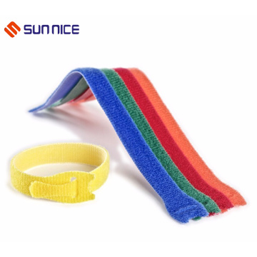 Hook and Loop Reusable Fastening Cable Ties