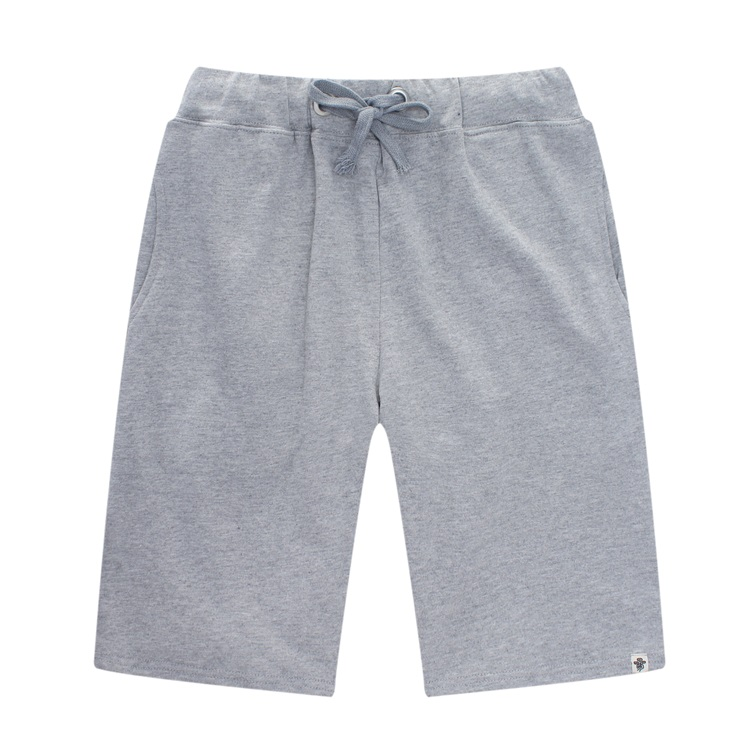 Grey Cotton Shorts