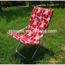 Popular Cadeira ensolarada dobrável / Cadeira de lazer ao ar livre / Cadeira colorida do sol da praia