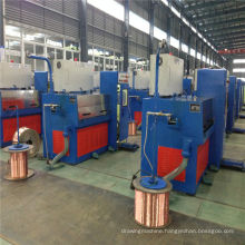 24DT(0.08-0.25) Copper fine wire drawing machine with wire drawing machine with continuous ennealing