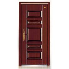 Deep Embossing Panel Design Steel Security Door