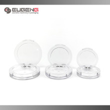Transparent eyeshadow compact case , 3 different szie eyeshadow container