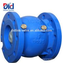Fabricante Non Slam Cf8m Distribuidor Techno flutuante Válvula de Retenção Slient Ferro Fundido Para Linha de Água