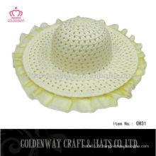 Chapeau en tricot papier pour enfants pour l'été