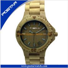 Relógios de madeira promocionais para senhoras com garantia de qualidade superior