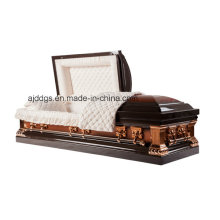 Brown and Copper Twotone Casket