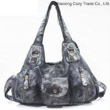 Moda popular Bolsa Messenger Bag Multi-Functional Mulher PU Bag