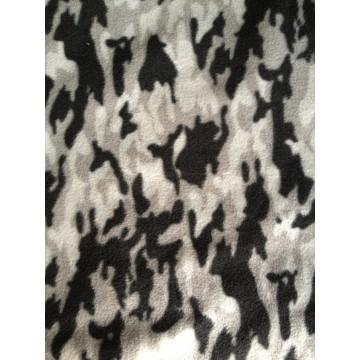 Tecido de lã polar impresso 200gsm