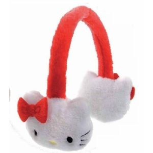 Kids Fakefur Cat Earmuffs