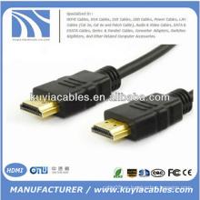 Cable HDMI 1.4 Soporte 3D 4K * 2K 1m 1.5m 2m 3m 5m 7.5m 10m 15m 20m
