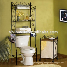 bathroom toilet set rack,storage rack in bathroom