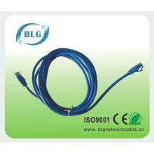Cabo retrátil do cabo do remendo de Ethernet cabo cat6 cat6 cat6